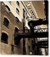 Butlers Wharf London Acrylic Print