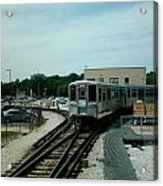Cta's Retired 2200-series Railcar Acrylic Print