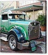 Custom Truck Acrylic Print