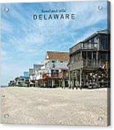 Delaware Acrylic Print