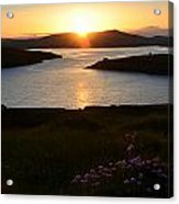 Dingle Sunset Acrylic Print