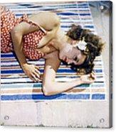 Dorothy Lamour Acrylic Print