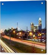 Early Morning In Charlotte Nc Acrylic Print
