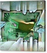 #11 Elusivenudescape 2003 Acrylic Print