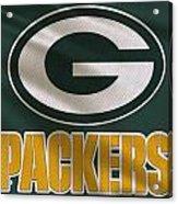 Green Bay Packers Uniform Acrylic Print