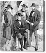 Jefferson Davis (1808-1889) Acrylic Print