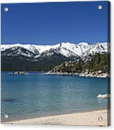 Lake Tahoe Photography Art Acrylic Print