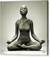 Meditation Pose Acrylic Print