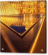 Musee Du Louvre Acrylic Print
