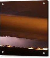 Nebraska Roll Cloud A Cometh Acrylic Print