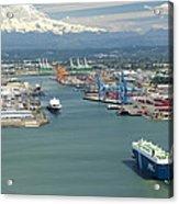 Port Of Tacoma, Tacoma Acrylic Print