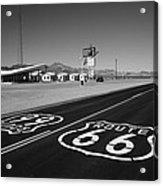 Route 66 Shield Acrylic Print