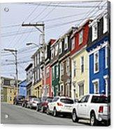 Saint John's. Newfoundland. Acrylic Print