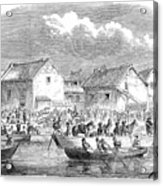 Second Opium War, 1860 Acrylic Print
