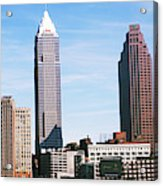 Skyscrapers In A City, Philadelphia Acrylic Print