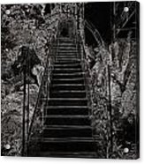 Staircase Leading To A Higher Level In Siloso Hotel In Sentosa Acrylic Print