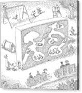 New Yorker February 14th, 2005 Acrylic Print