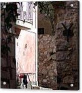 Views Of Taormina Sicily Acrylic Print