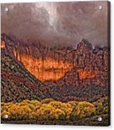 Zion National Park Utah Acrylic Print