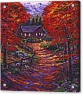 1133 Friendly House Acrylic Print