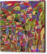 1144 Abstract Thought Acrylic Print