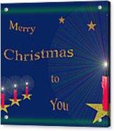 117 - Christmas Card Acrylic Print