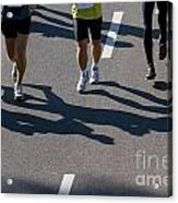 11th Poznan Marathon Acrylic Print by Michal Bednarek