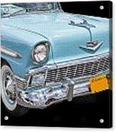 1956 Chevrolet Bel Air Convertible Acrylic Print