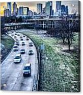 Charlotte Downtown Acrylic Print