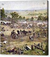 Civil War Gettysburg Acrylic Print