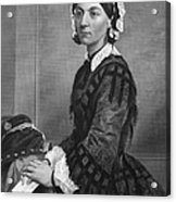 Florence Nightingale Acrylic Print