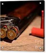 12 Gauge Over And Under Shotgun Acrylic Print