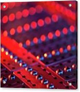 Genome Sequencing Machine Acrylic Print