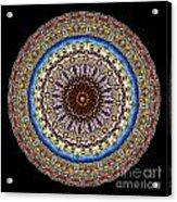 Kaleidoscope Stained Glass Window Series Acrylic Print