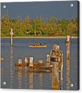 12- Kayak Acrylic Print