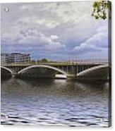 London Thames Bridges  Acrylic Print