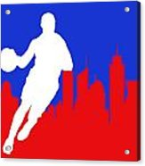 Los Angeles Clippers Acrylic Print