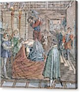Mary, Queen Of Scots (1542-1587) Acrylic Print