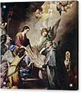 Murillo, Bartolom� Esteban 1617-1682 Acrylic Print