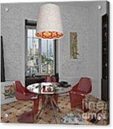 My Art In The Interior Decoration - Elena Yakubovich Acrylic Print