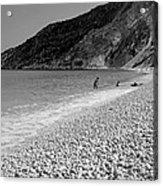 Myrtos Beach Acrylic Print