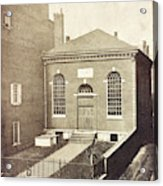 Philadelphia, C1855 Acrylic Print
