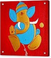 12 Shubham - Auspicious Ganesha Acrylic Print