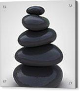 Stone Therapy Acrylic Print