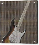 12 Thousand Electric Guitars Acrylic Print