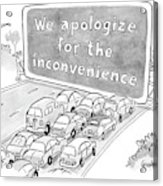 New Yorker July 10th, 2006 Acrylic Print