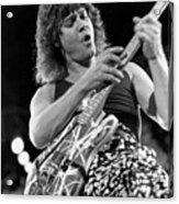 Guitarist Eddie Van Halen Acrylic Print