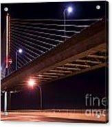 Veterans Glass City Skyway Bridge Acrylic Print