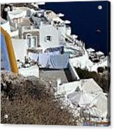 Views From Santorini Greece Acrylic Print