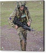 Welsh Guards Training Acrylic Print